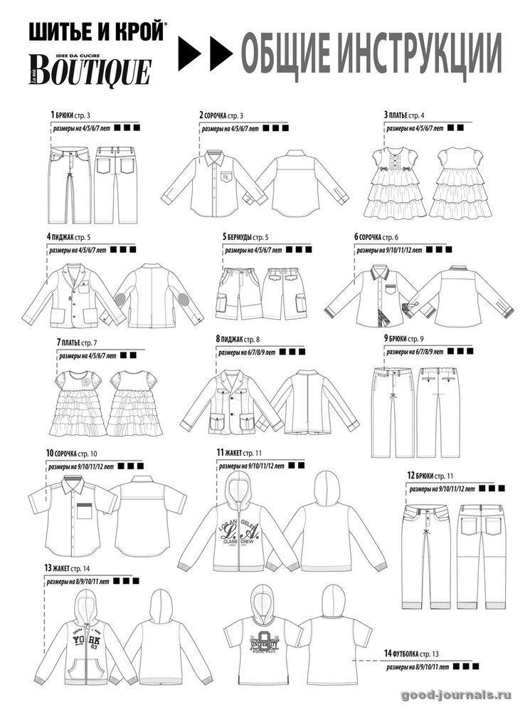 Дизайн одежды кройка и шитьё